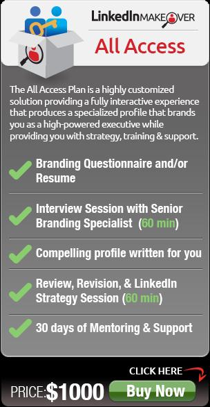 all access LinkedIn Executive Profile Service