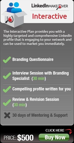 interactive LinkedIn Profile Help