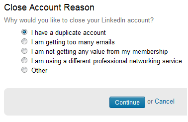 I Deleted My Account, Will My Name Stay On a Connection's