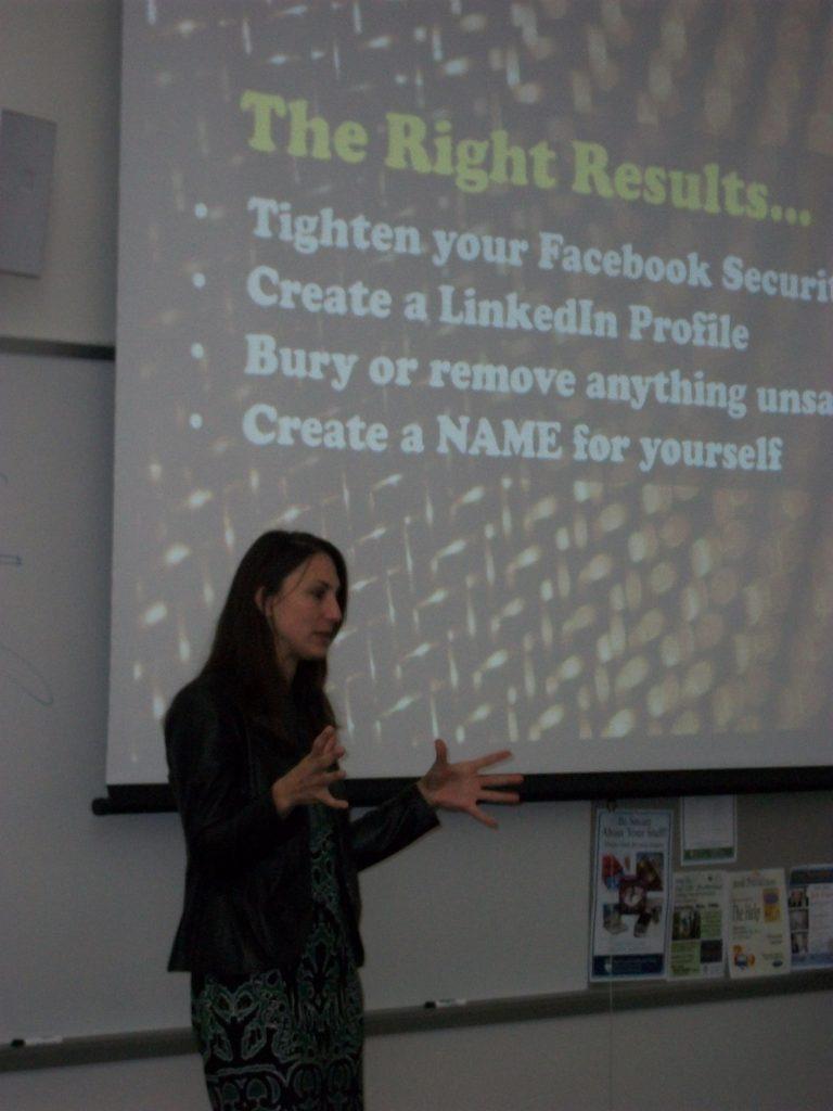 LinkedIn Public Speaker