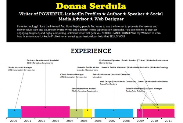 vizualize me infographic resume  u00bb linkedin makeover
