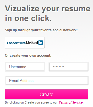 Vizualize Me Turns Your LinkedIn Profile into an Infographic