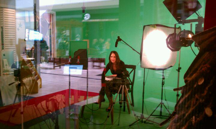 Green Screen Technology, filming Social Media Makeover