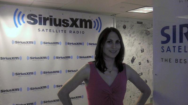 Donna Serdula on SiriusXM Radio talking about LinkedIn