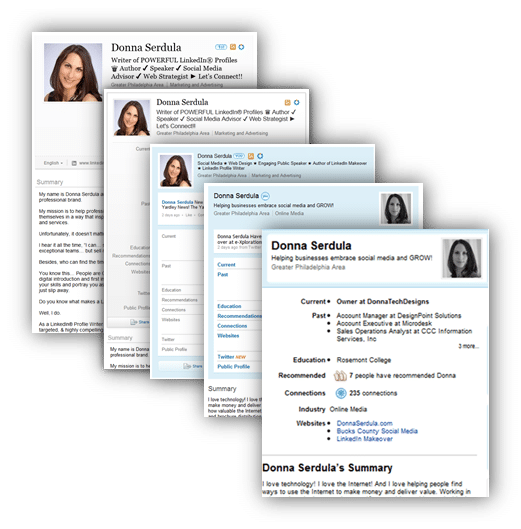 All LinkedIn profiles