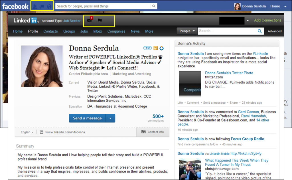 LinkedIn Interface Changes