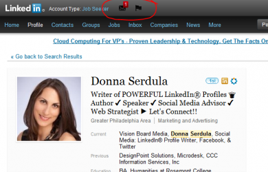 New Icons to LinkedIn Navigation Bar, LinkedIn Redesign