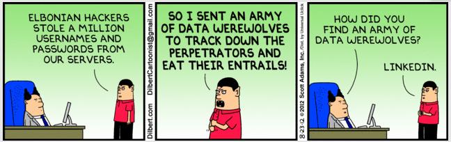 LinkedIn Data Werewolves
