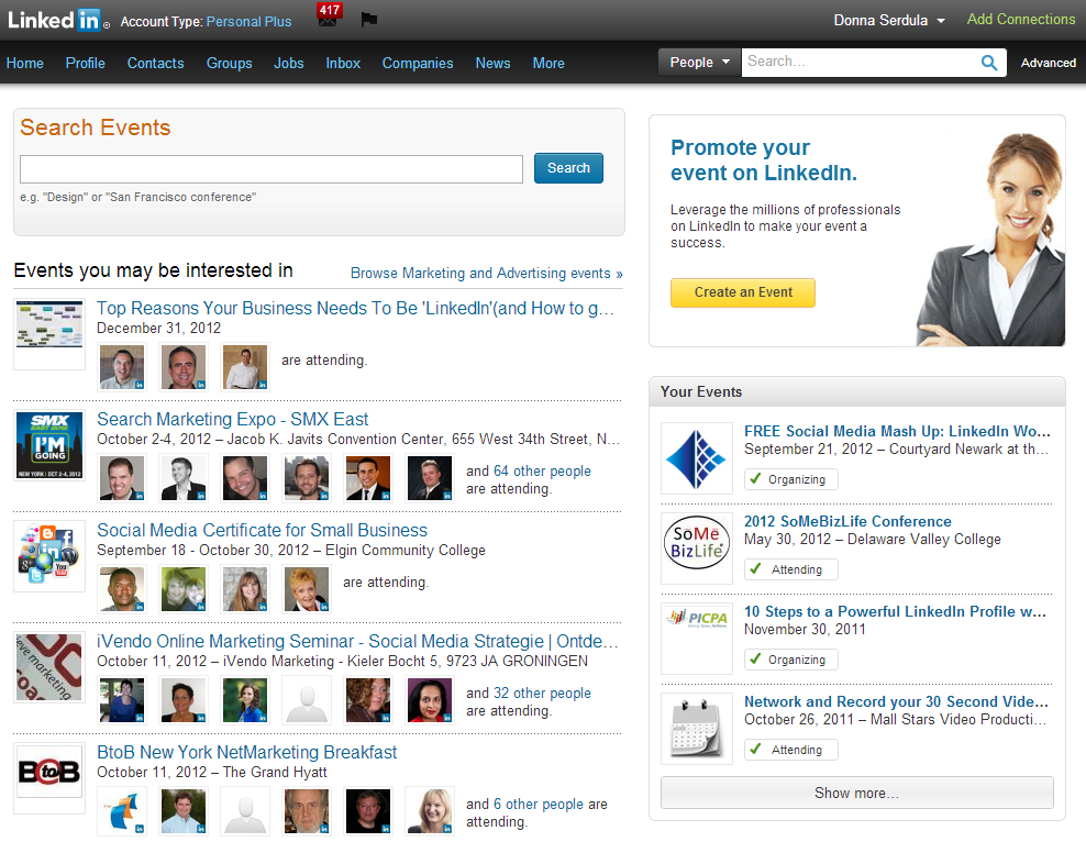 Bye Bye LinkedIn Events Page, it was nice knowing you!