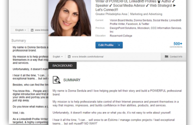 How to get the New LinkedIn Profile