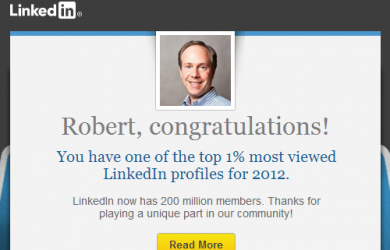 Top Viewed LinkedIn Profile
