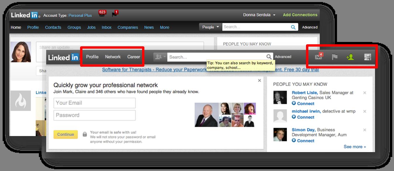 LinkedIn Introduces Newly Redesigned Navigation Bar