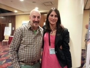 Donna Serdula and Jeffrey Gitomer