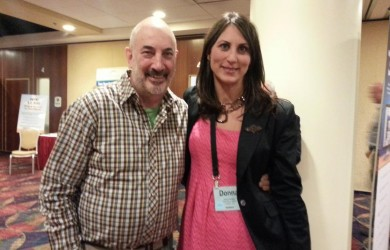 Donna Serdula and Jeffrey Gitomer