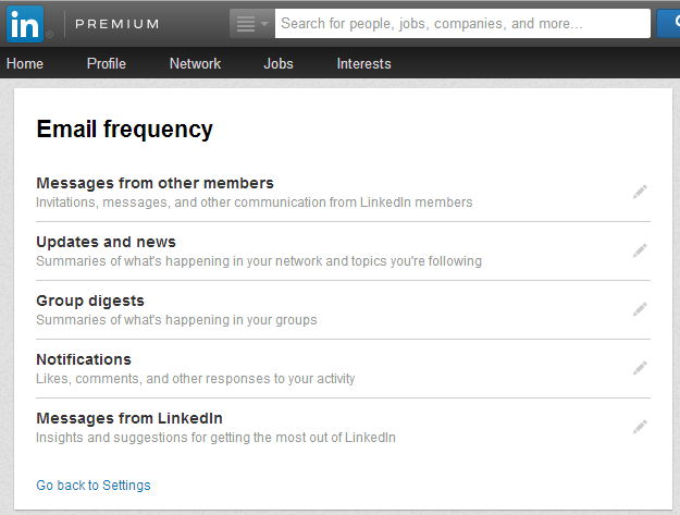 How to Set Email Frequency on LinkedIn