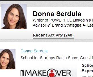 LinkedIn Recent Activity Returns to the LinkedIn Profile
