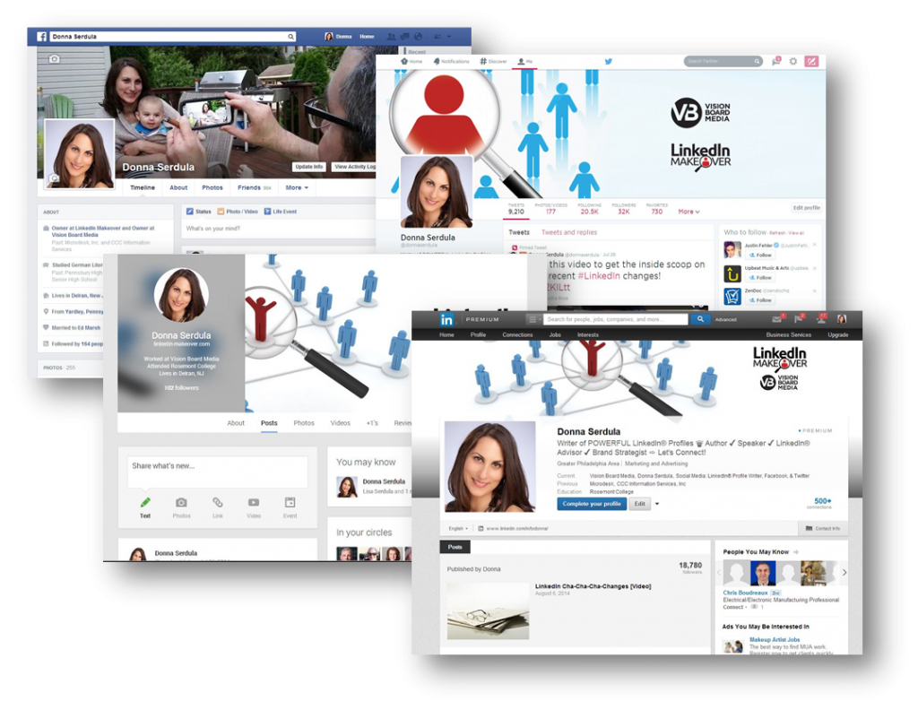 LinkedIn: LinkedIn Customized Backgrounds, Templates, & Examples