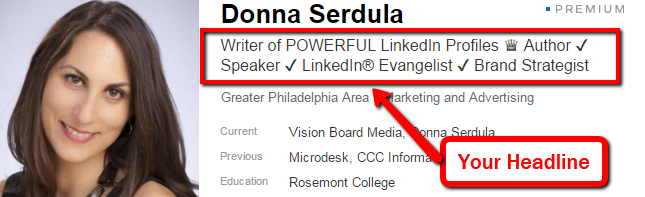 generate a powerful linkedin headline in seconds