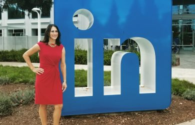 Donna Serdula at LinkedIn's Headquarters