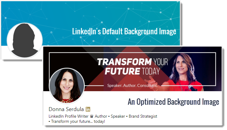 Linkedin Profile Optimization For Dummies Background Image