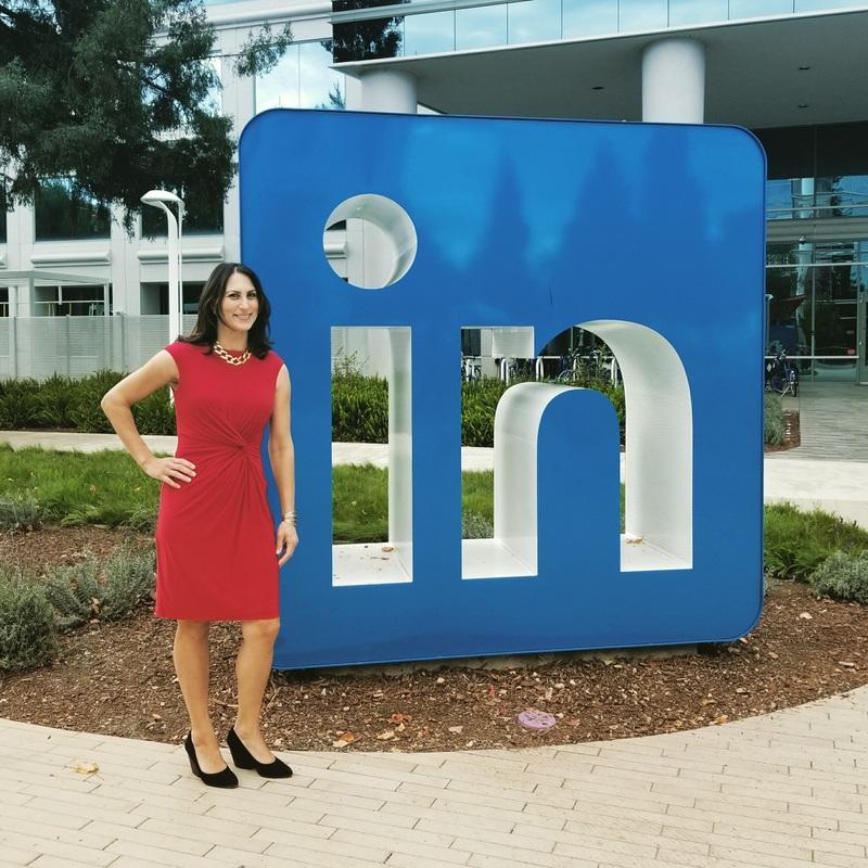 Donna Serdula at LinkedIn's Headquarters