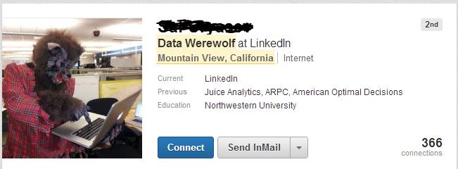 LinkedIn Data Werewolf