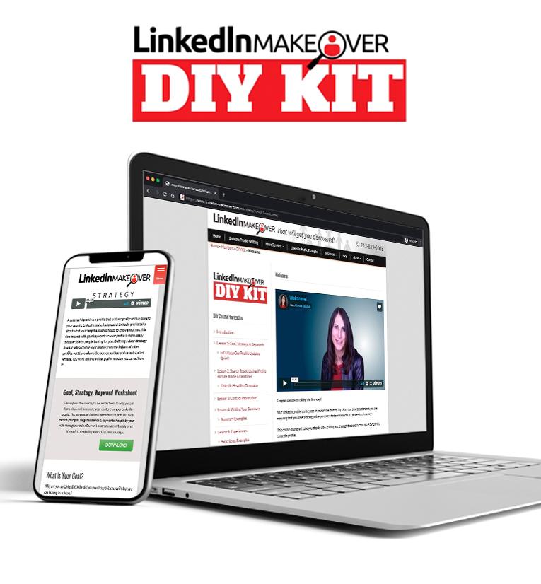 LinkedIn Makeover DIY kit Vertical