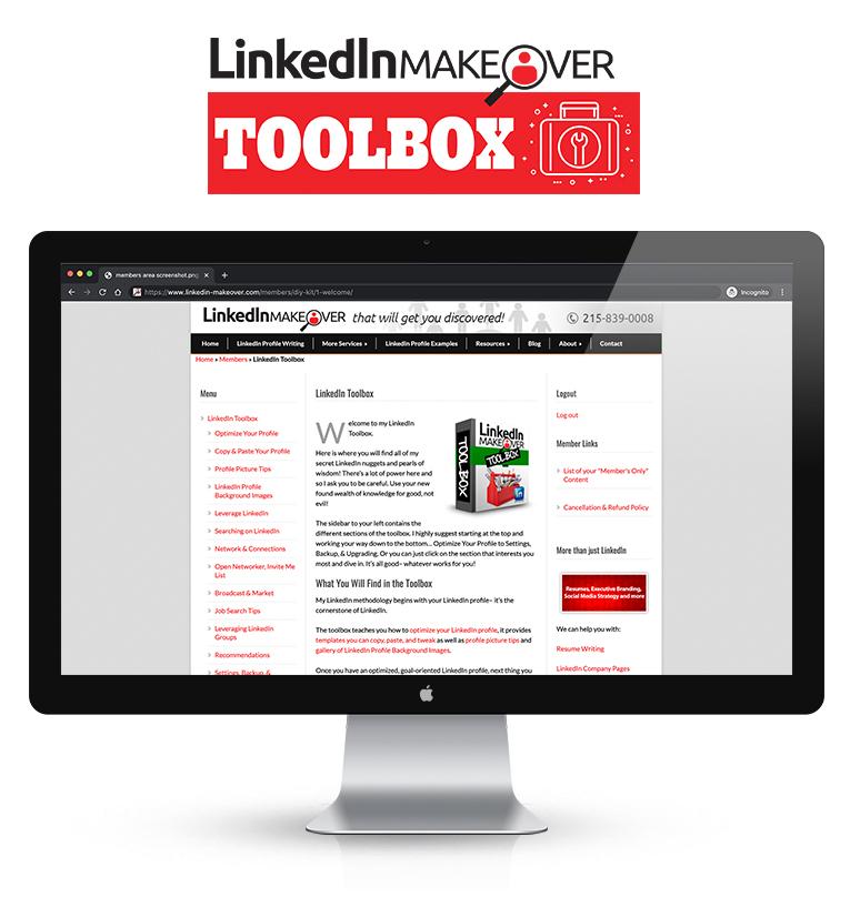 LinkedIn Makeover Toolbox Vertical