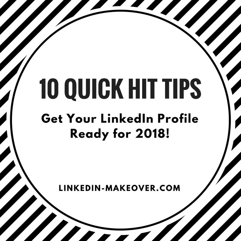 LinkedIn Profile 2018
