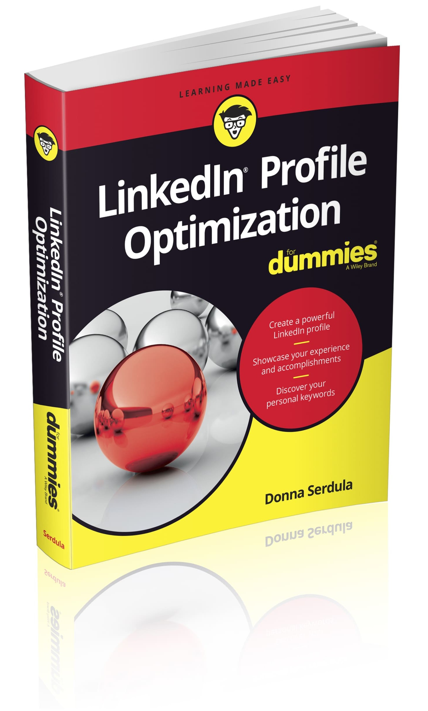 LinkedIn Profile Optimization for Dummie Book