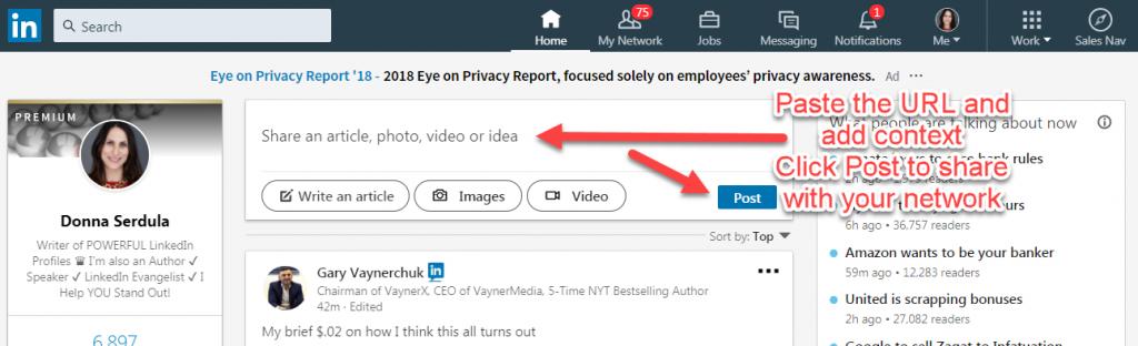 Create an Event on LinkedIn