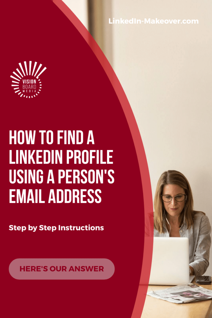 Search LinkedIn Profile Email
